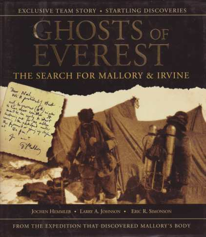 Image for GHOSTS OF EVEREST The Search for Mallory & Irvine