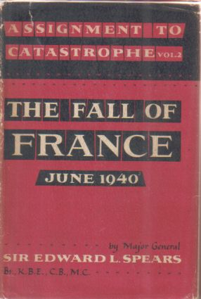Image for ASSIGNMENT TO CATASTROPHE [VOLUME TWO ONLY] The Fall of France June 1940