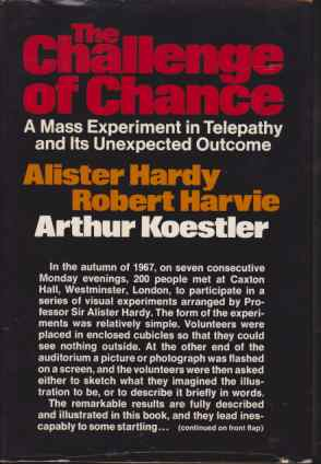 Image for THE CHALLENGE OF CHANCE A Mass Experiment in Telepathy and its Unexpected Outcome