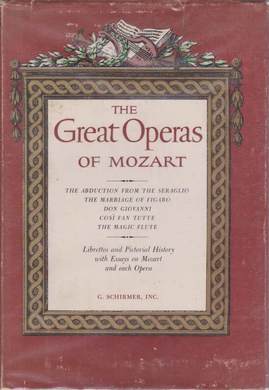 Image for THE GREAT OPERAS OF MOZART