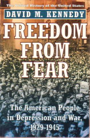 Image for FREEDOM FROM FEAR The American People in Depression and War 1929-1945