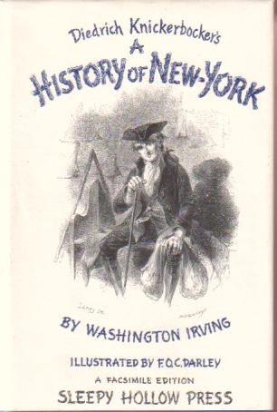 Image for DIEDRICH KNICKERBOCKER'S A HISTORY OF NEW-YORK
