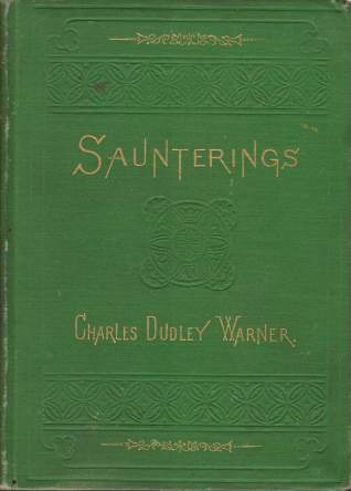 Image for SAUNTERINGS