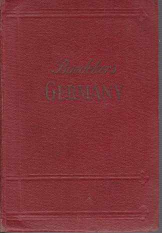Image for GERMANY A Handbook for Railway Travellers and Motorists