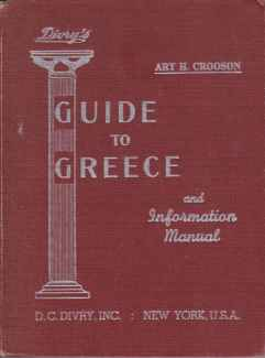 Image for DIVRY'S GUIDE TO GREECE AND INFORMATION MANUAL