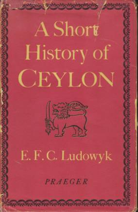 Image for A SHORTY HISTORY OF CEYLON