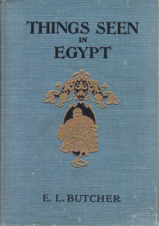 Image for THINGS SEEN IN EGYPT