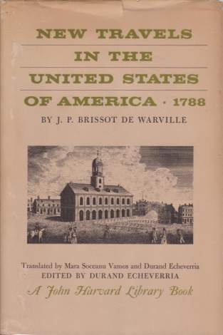 Image for NEW TRAVELS IN THE UNITED STATES OF AMERICA 1788