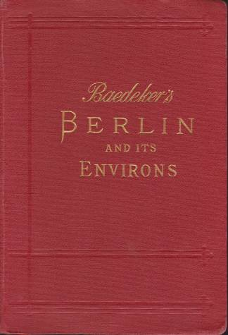 Image for BERLIN AND ITS ENVIRONS Handbook for Travellers