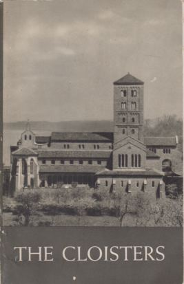 Image for THE CLOISTERS The Building and the Collection of Mediaeval Art. in Fort Tryon Park