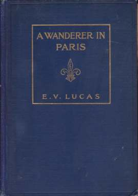 Image for A WANDERER IN PARIS