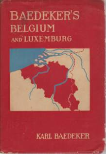 Image for BELGIUM AND LUXEMBURG Handbook for Travellers