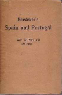 Image for SPAIN AND PORTUGAL Handbuch for Travellers