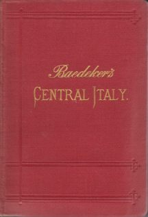 Image for ITALY, SECOND PART: CENTRAL ITALY AND ROME Handbook for Travellers