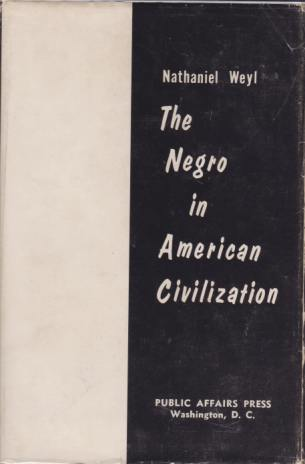 Image for THE NEGRO IN AMERICAN CIVILIZATION