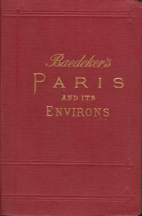 Image for PARIS AND ENVIRONS With Routes from London to Paris
