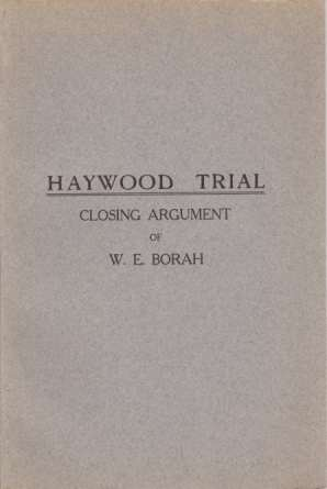 Image for HAYWOOD TRIAL Closing Argument