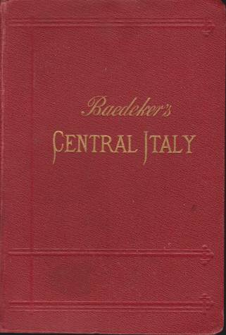 Image for CENTRAL ITALY AND ROME Handbook for Travellers