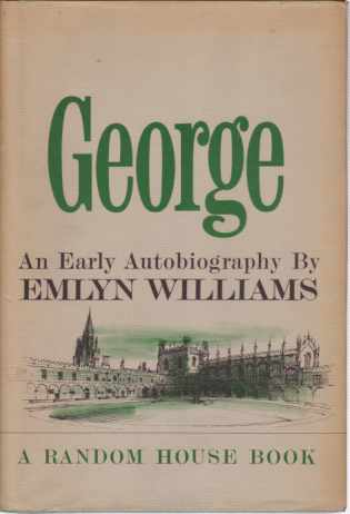 Image for GEORGE An Early Autobiography