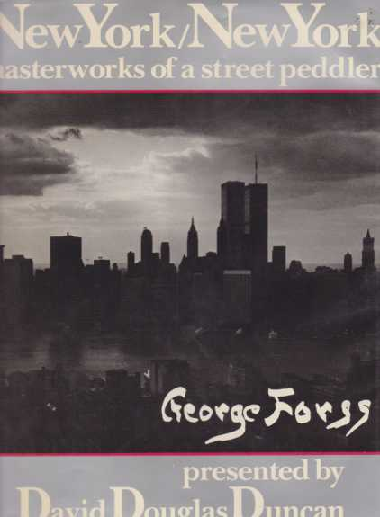 Image for NEW YORK/NEW YORK Masterworks of a Street Peddler-presented by David Douglas Duncan