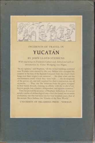 Image for INCIDENTS OF TRAVEL IN YUCATAN [TWO VOLUMES SET]