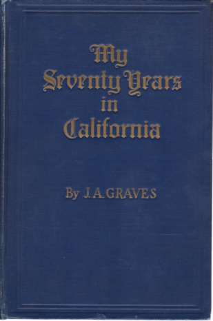 Image for MY SEVENTY YEARS IN CALIFORNIA 1857-1927
