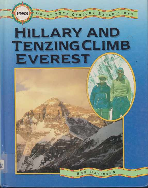 Image for HILLARY AND TENZING CLIMB EVEREST