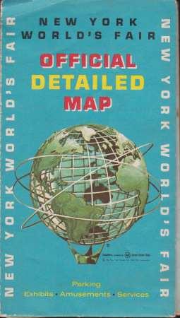 on 1964 world s fair map