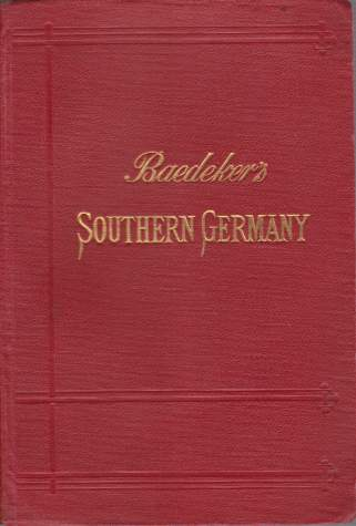 Image for SOUTHERN GERMANY  (Wurtemberg and Bavaria). Handbook for Travellers