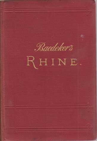 Image for THE RHINE FROM ROTTERDAM TO CONSTANCE Handbook for Travellers