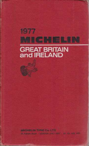 Image for MICHELIN GREAT BRITAIN AND IRELAND 1977