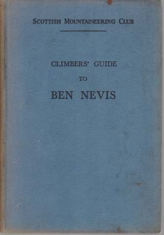 Image for CLIMBERS' GUIDE TO BEN NEVIS