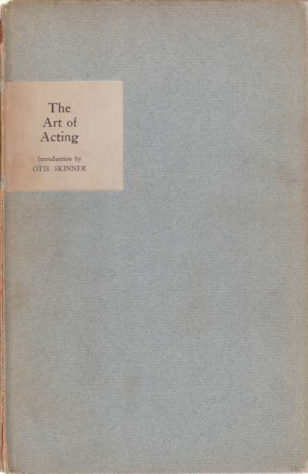 Image for THE ART OF ACTING