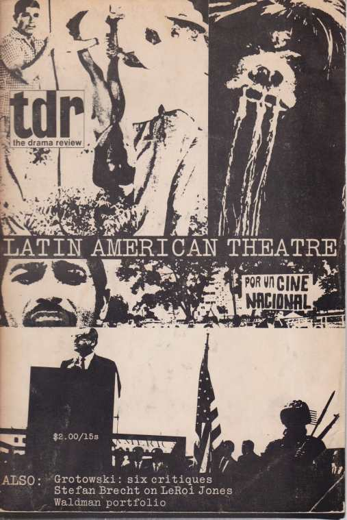 Image for THE DRAMA REVIEW. LATIN AMERICAN THEATER Volume 14 Number 2 (T46) , Winter 1970