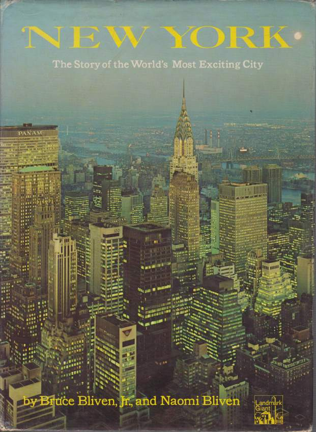 Image for NEW YORK The Story of the World's Most Exciting City