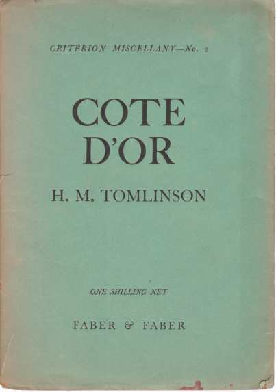 Image for COTE D'OR