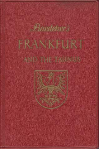Image for FRANKFURT AND THE TAUNUS Handbook for Travellers
