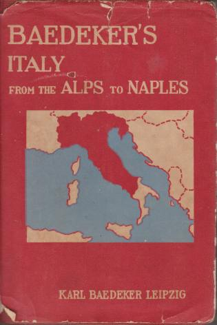 Image for ITALY FROM THE ALPS TO NAPLES Abridged Handbook for Travellers