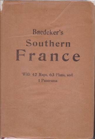 Image for SOUTHERN FRANCE Including Corsica. Handbook for Travellers