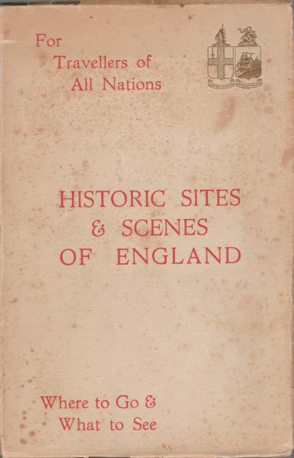 Image for HISTORIC SITES & SCENES OF ENGLAND