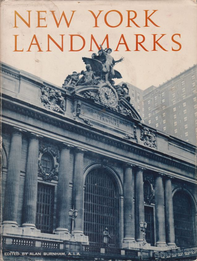 Image for NEW YORK LANDMARKS A Study & Index of Architectually Notable Structures in Greater New York