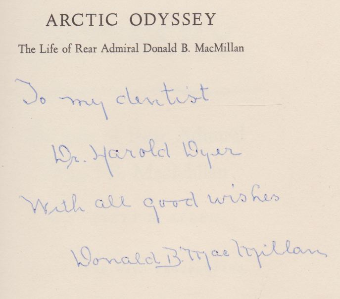 Image for ARCTIC ODYSSEY The Life of Rear Admiral Donal B. MacMillan