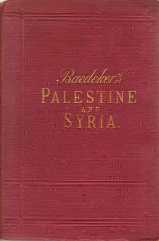Image for PALESTINE AND SYRIA Handbook for Travellers