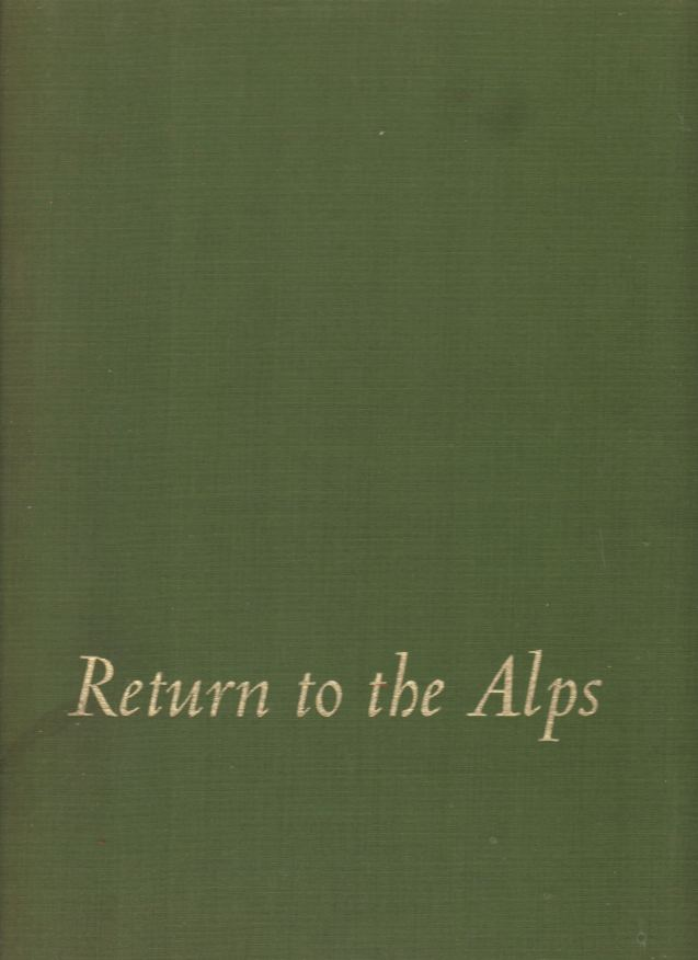 Image for RETURN TO THE ALPS