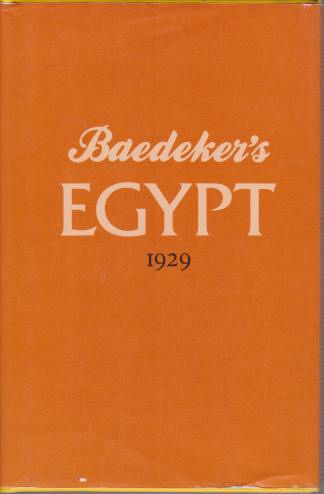 Image for BAEDEKER'S EGYPT 1929