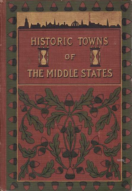 Image for HISTORIC TOWNS OF THE MIDDLE STATES
