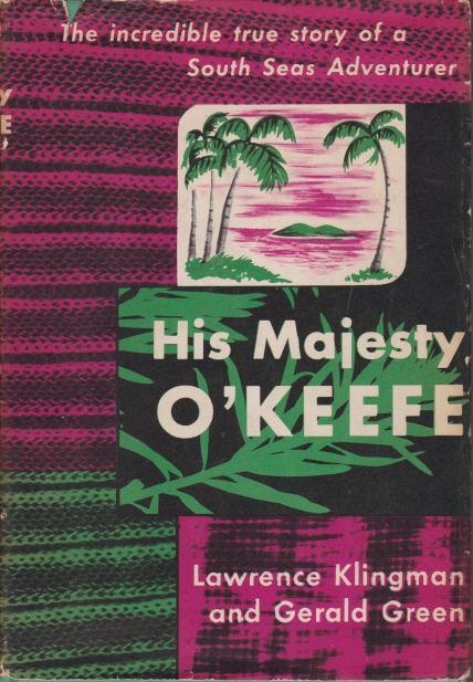 Image for HIS MAJESTY O'KEEFE