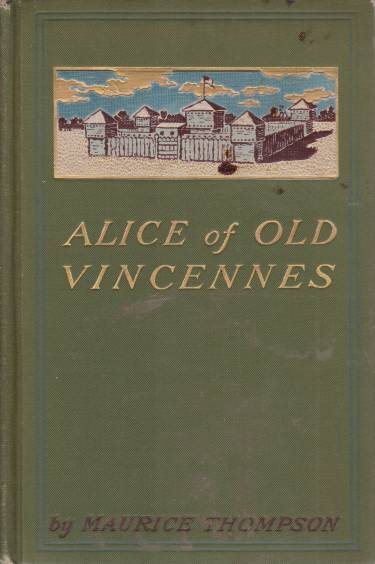 Image for ALICE OF OLD VINCENNES