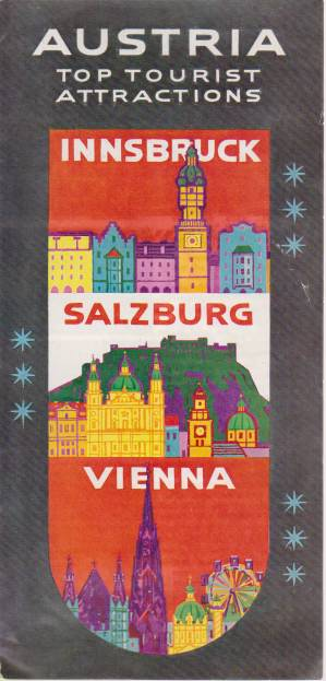 Image for AUSTRIA. TOP TOURIST ATTRACTIONS Innsbruck, Salzburg, Vienna
