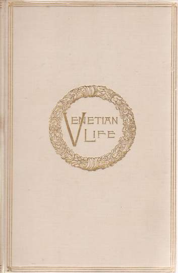 Image for VENETIAN LIFE [TWO VOLUME SET]